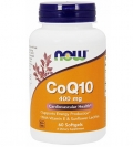 NOW FOODS  CoQ10 400mg 60ソフトジェルタイプ入り
