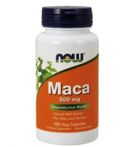 NOW MACA 500mg 100 veg capsuls